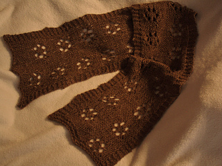 Bison little lace scarf