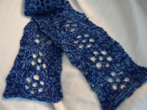 Little Lace Daisy Scarf a