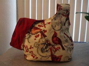 Cardinal Knot Bag 2