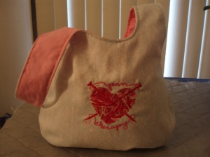 Yarn Therapy Knot Bag
