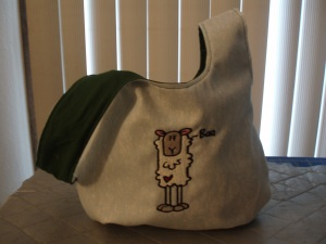 Medium Sheep Knot Bag