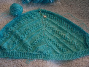 Start of Mother of All Shawl