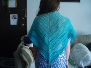 Mother of All Shawl d