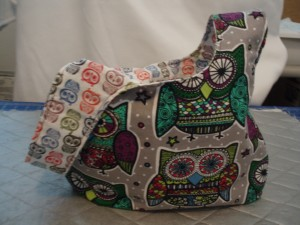 Owl Knot bag b