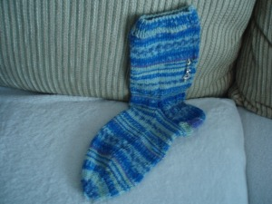 1st sock done for 1st pair of socks