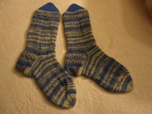 1st Pair of socks done