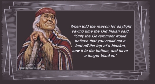 Old Indian Wisdom