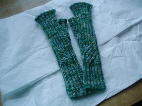 Te Ara Fingerless Mitts
