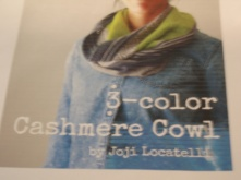 3-Color Cashmere Cowl 1