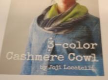 3-Color Cashmere Cowl 1