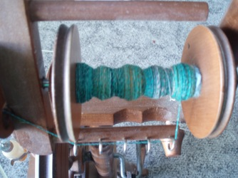2nd spool of singles for rolag