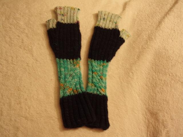 2nd pair of Te Ara Fingerless Mitts