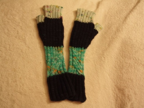 2nd pair of Te Ara Fingerless Mitts