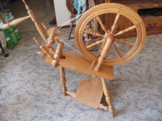 Rick Reeves Spinning Wheel