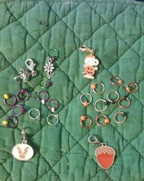 New stitch markers & Progress keepers