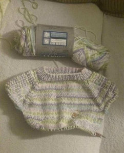 Flax baby sweater 2a