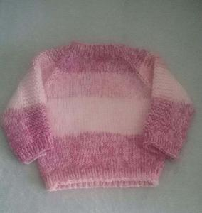 Flax Baby Sweater 3d